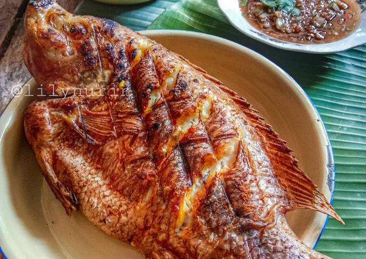 Ikan talapia bakar air asam - resepipouler.com