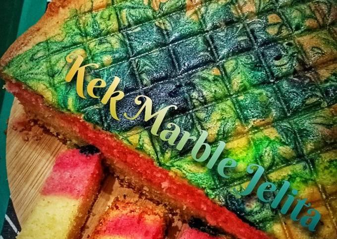 Kek Marble Jelita (jelita ke?)