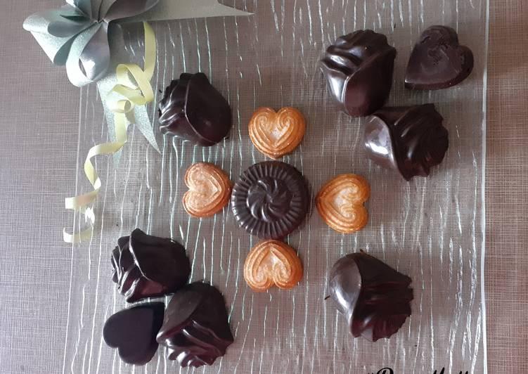 Recipe of Favorite Heart & Roses Chocolates