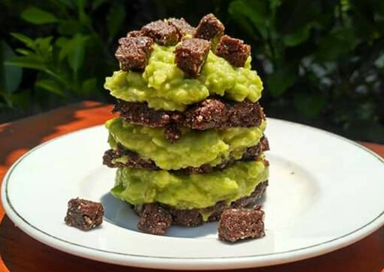 Kurma Avocado Cookies