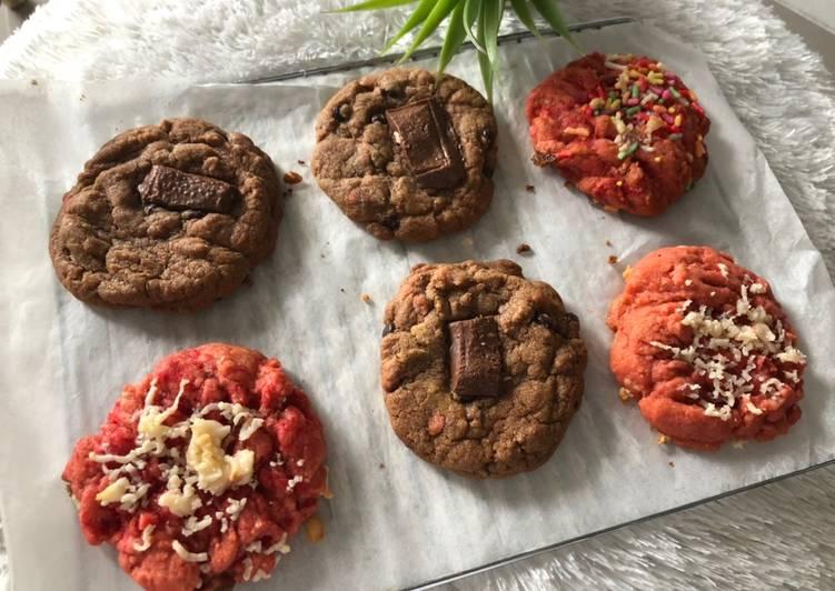 Cookies melted choco & redvelvet