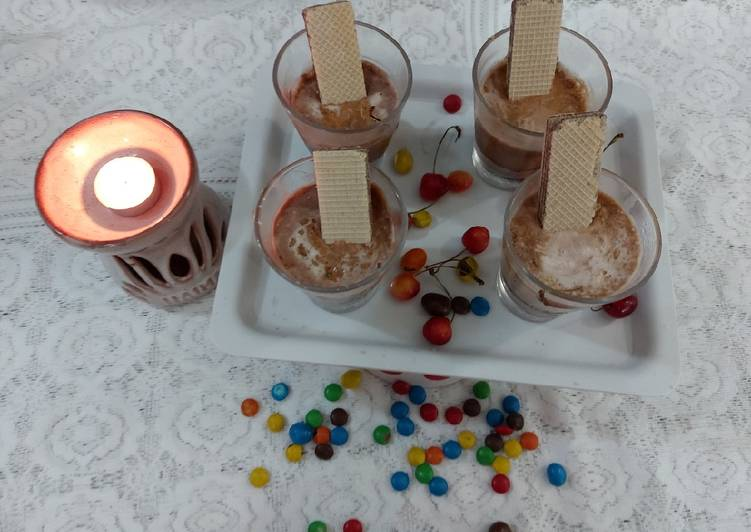 Recipe of Homemade Delgona coffiee cream chocolate Dessert