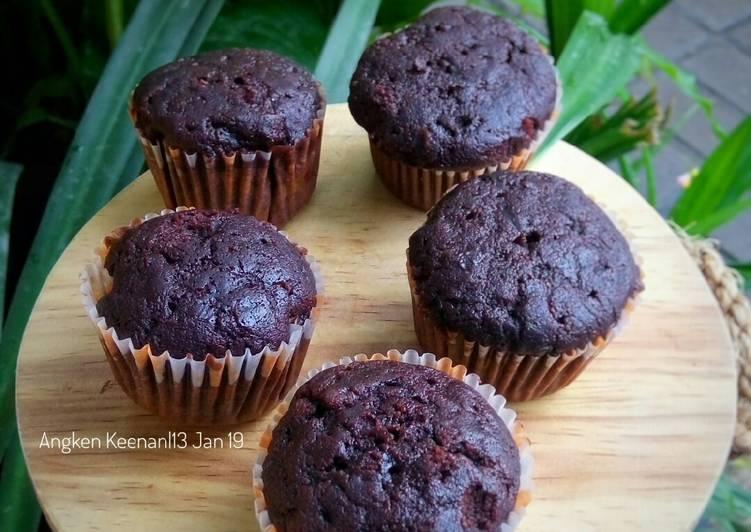 Resep Simple Choco Muffin nyoklaatt Top