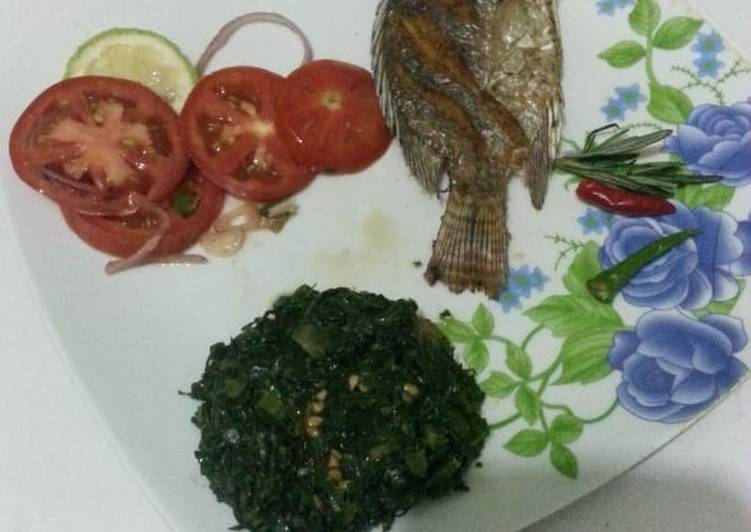 Deep fried fish#new author contest#