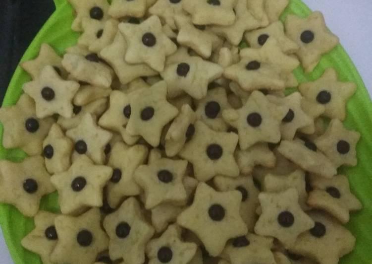 Kue kering mentega (butter cookies)