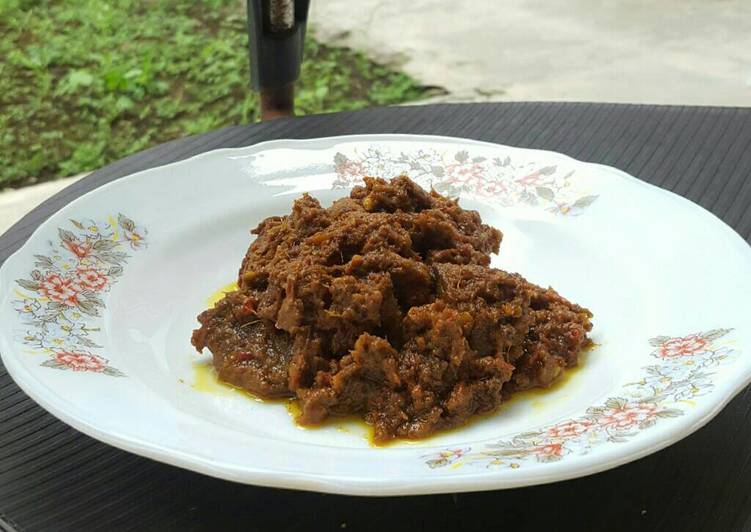 Recipe: Appetizing Rendang Beef (Indonesian Food)