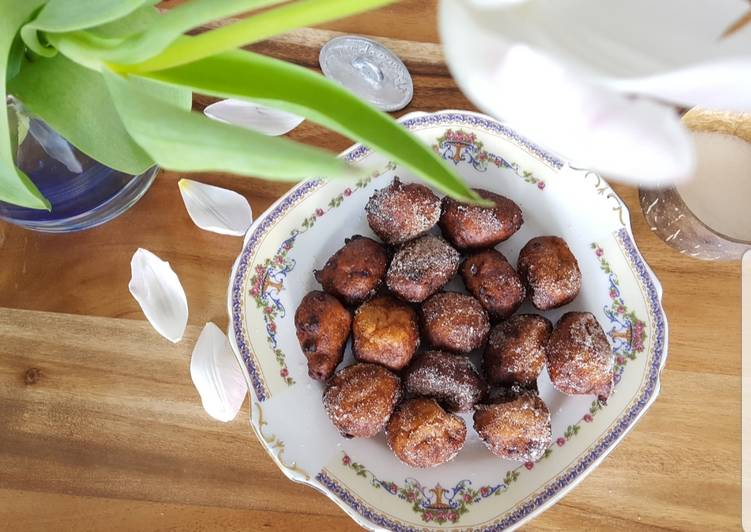 Steps to Prepare Super Quick Homemade Banana fritters