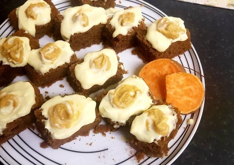 Sweet potato bake slices