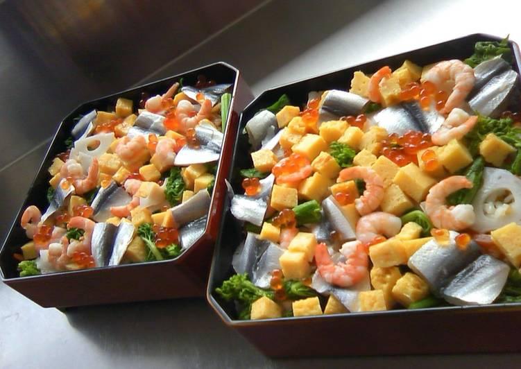 Chirashi Zushi (sushi dispersado)