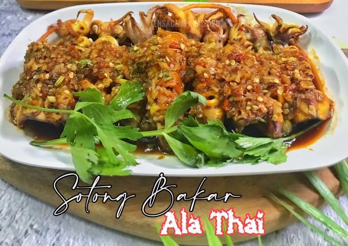 Sotong Bakar Ala Thai