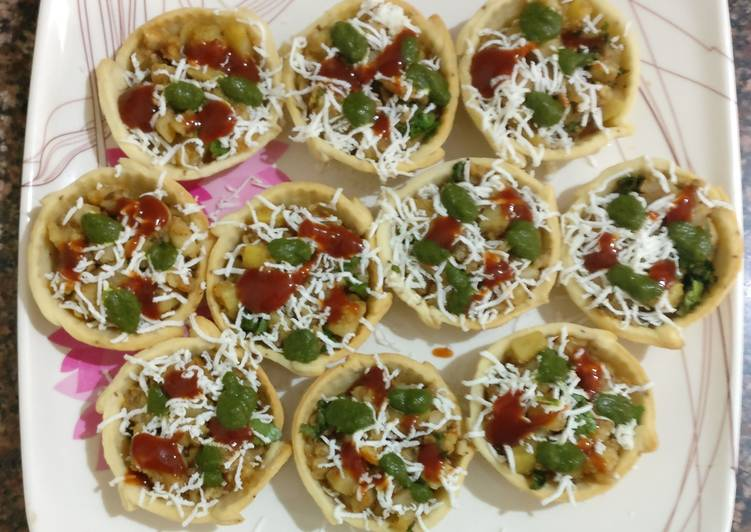 Baked Chaat Basket