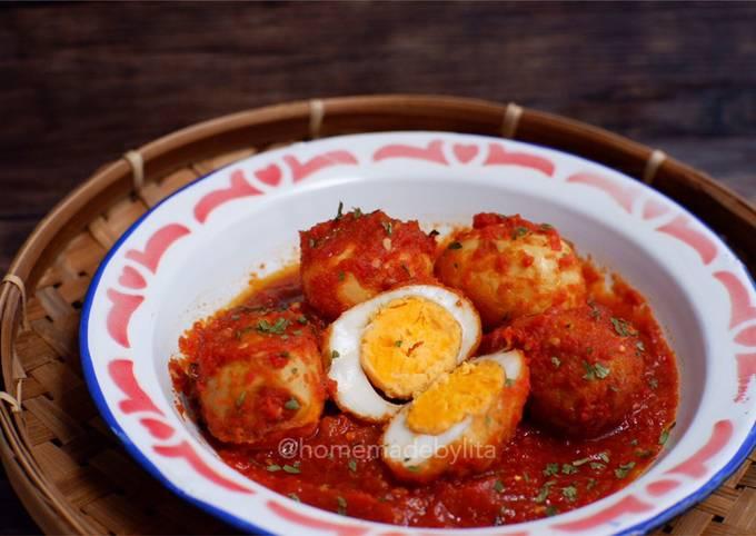Telur balado pedas #homemadebylita
