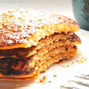 Pancakes fit, saludables sin gluten, sin azúcar, sin grasa, sin lactosa y... DELICIOSOS!!