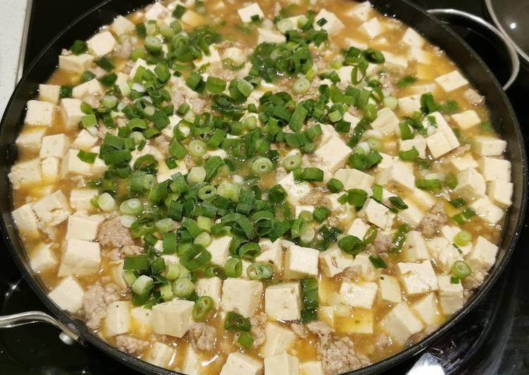 Moon Tofu (braised tofu with mince pork/chicken)