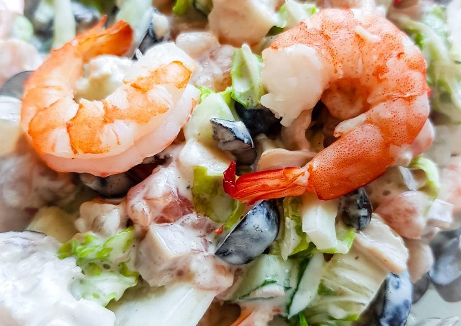 Салат морской коктейль рецепты с фото
