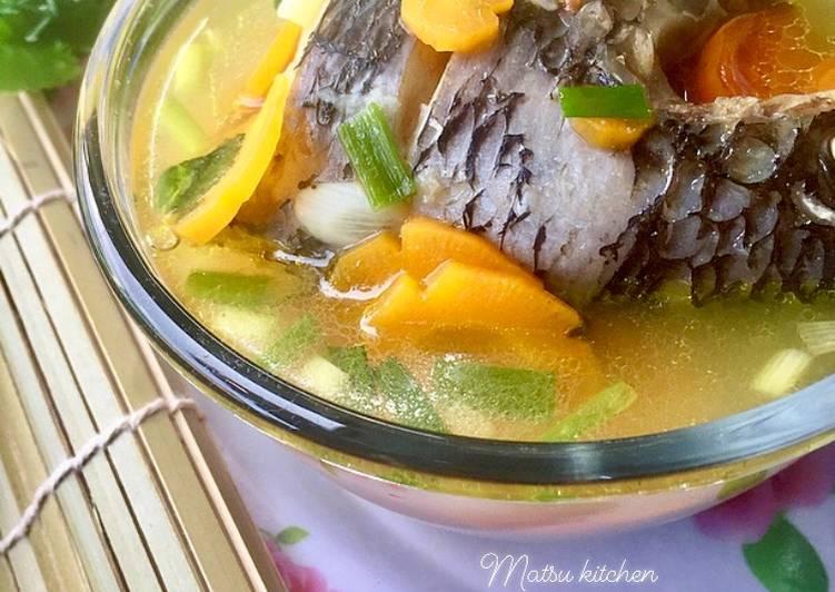 Resep 169. Sup Ikan Nila Simple No Ulek Anti Gagal