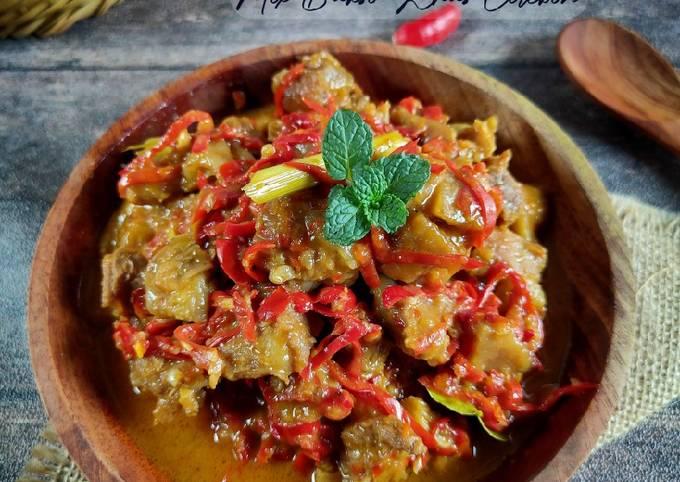 Sambal Goreng Daging Mix Bakso khas Cirebon