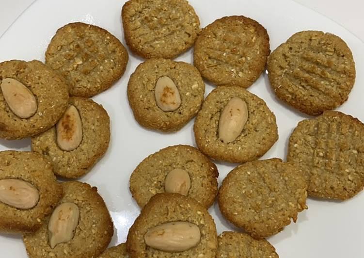 Biscotti vegani alle mandorle