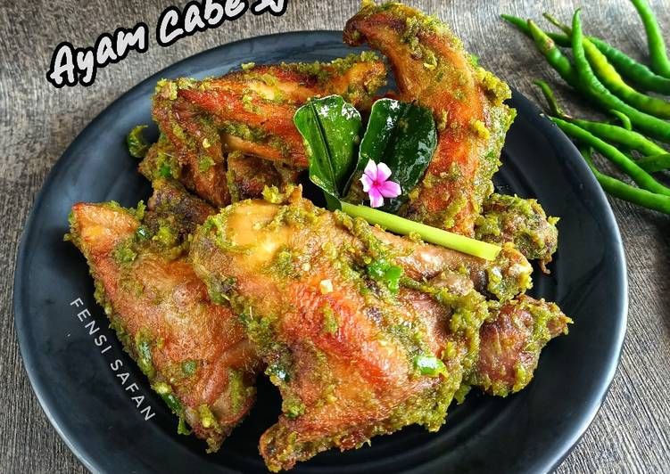 Ayam Cabe Ijo