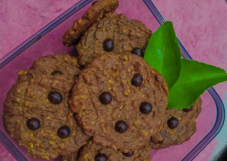 Oatmeal Chocolate Cookies 🍫🍪 (teflon)