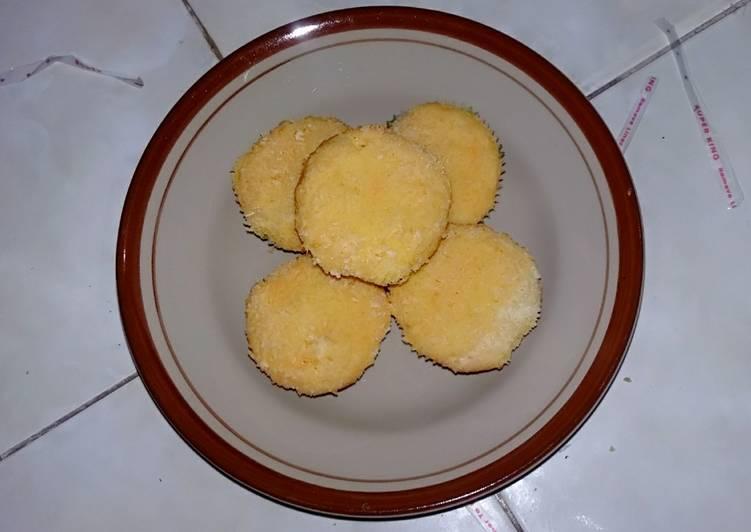 cara membuat Bolu kelapa mini.. - Sajian Dapur Bunda