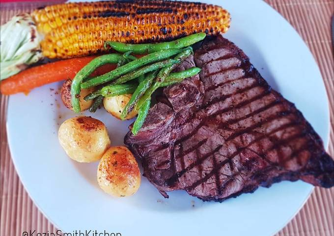 Tbone Steak (simple and delicious)