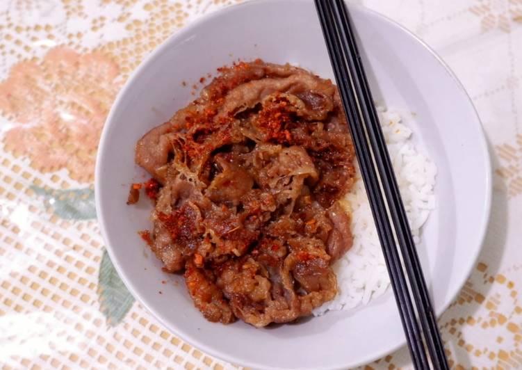 Daging ala Yoshinoya