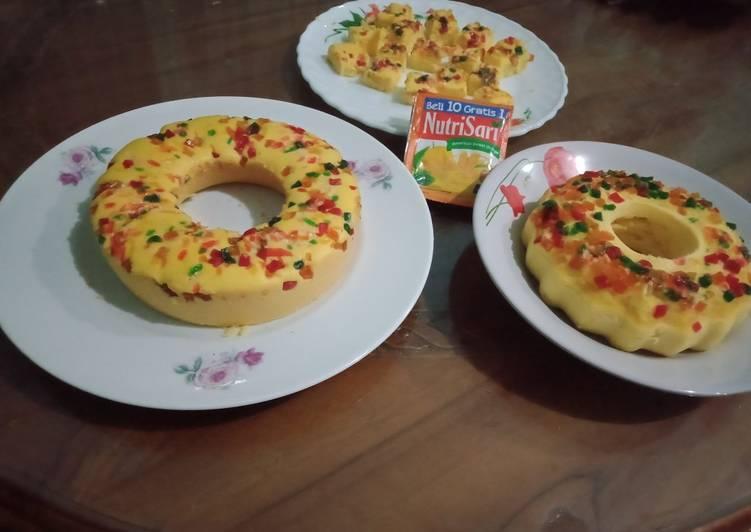 Cake NUTRISARI RECIPE versi kukus dan dan panggang - DAPUR MARIS