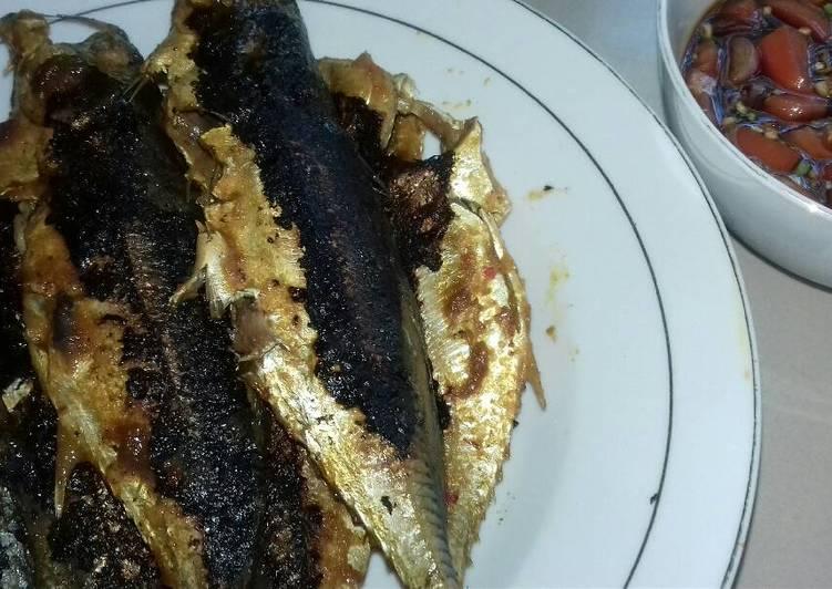 Ikan Bakar dengan Sambel Kecap