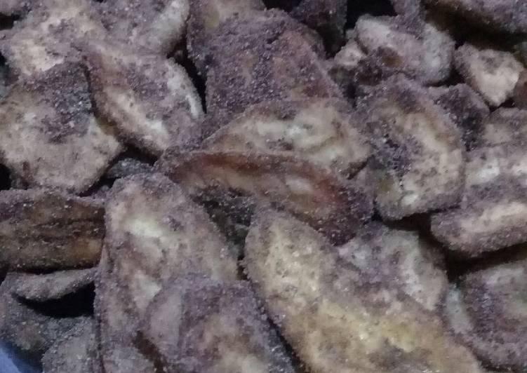 Gambar Keripik Pisang Coklat Khas Lampung Resep 7 Keripik Pisang Coklat Khas Lampung Oleh