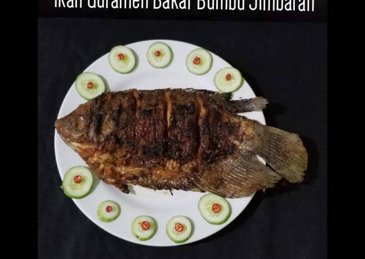 201. Ikan Gurameh Bakar Bumbu Jimbaran