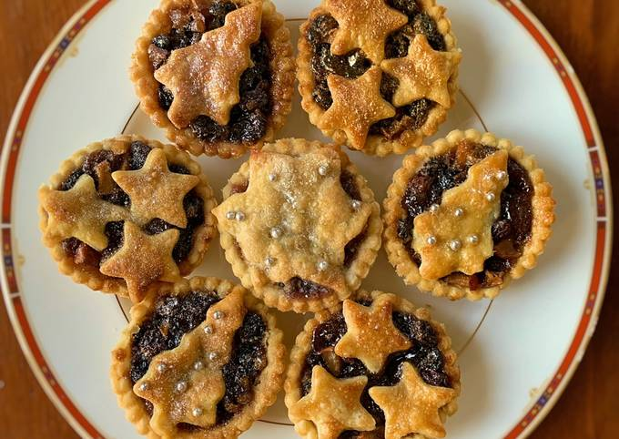 Recipe: Delicious Mince Pies Pastry Recipe Vegan friendly