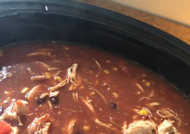 Easiest Way to Make Favorite Slow Cooker Chicken Tortilla Soup