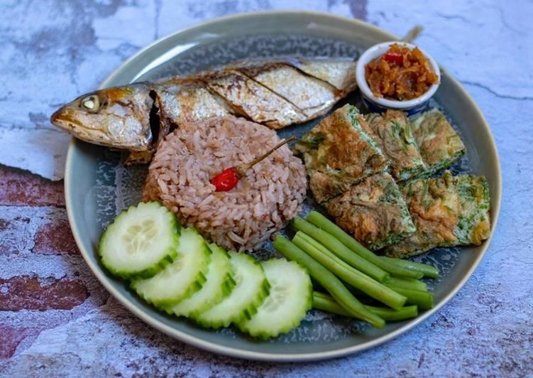 Easiest Way to Prepare Homemade Nam phrik kra pi (น้ำพริกกระปิ)