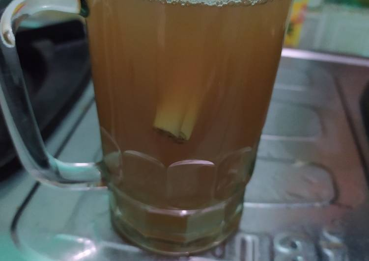 Cara Menyiapkan Air Jahe Hangat Enak Banget Resep Masakanku
