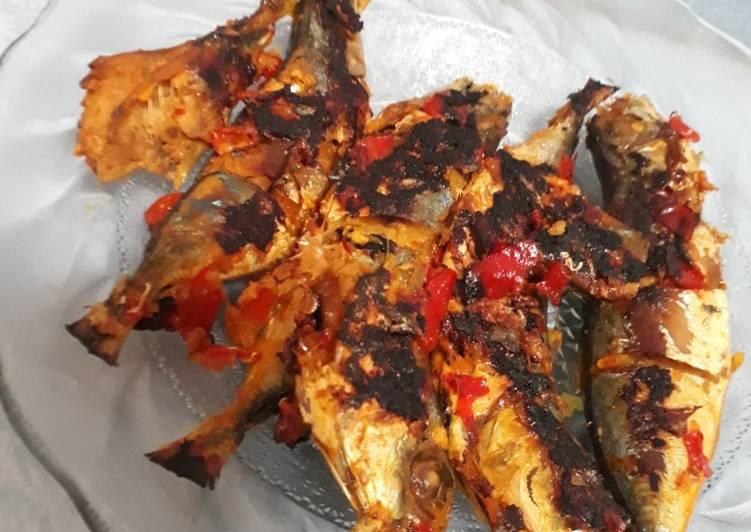 Kembung Bakar Teflon ala masakan Padang