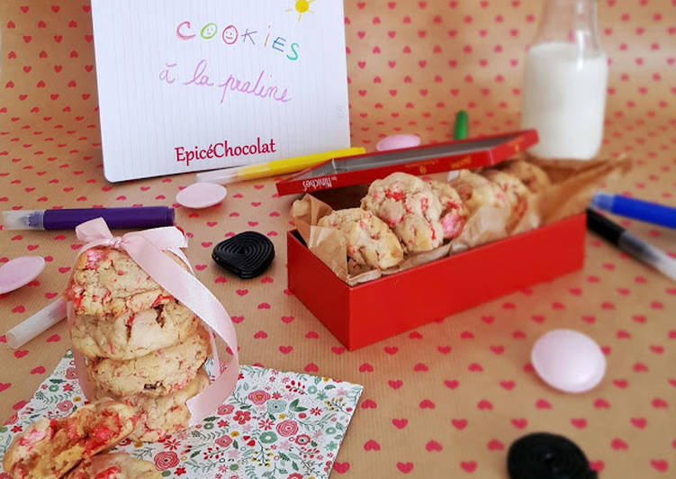 Cookies a la praline