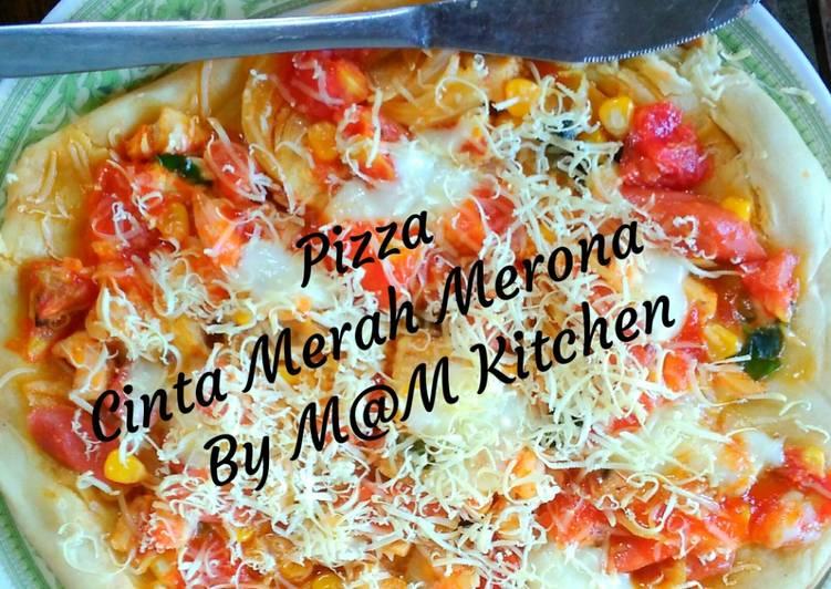 Pizza Cinta Merah Merona