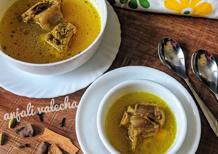 Step-by-Step Guide to Prepare Perfect Mutton soup