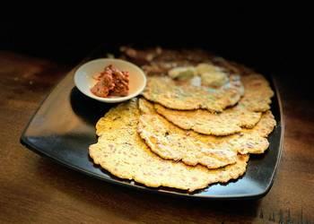 Easiest Way to Cook Tasty Bajra dhapate Pearl millets flat bread