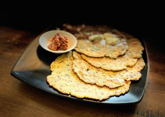 Bajra dhapate/ Pearl millets flat bread