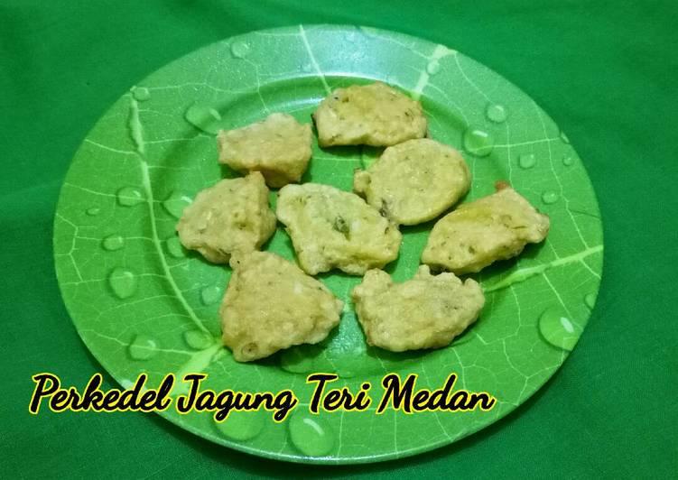 Perkedel Jagung Teri Medan (u anak intoleran susu sapi)