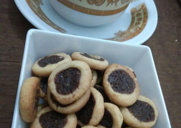 Chocolate cookies (takaran sendok, no mixer, oven tangkring)