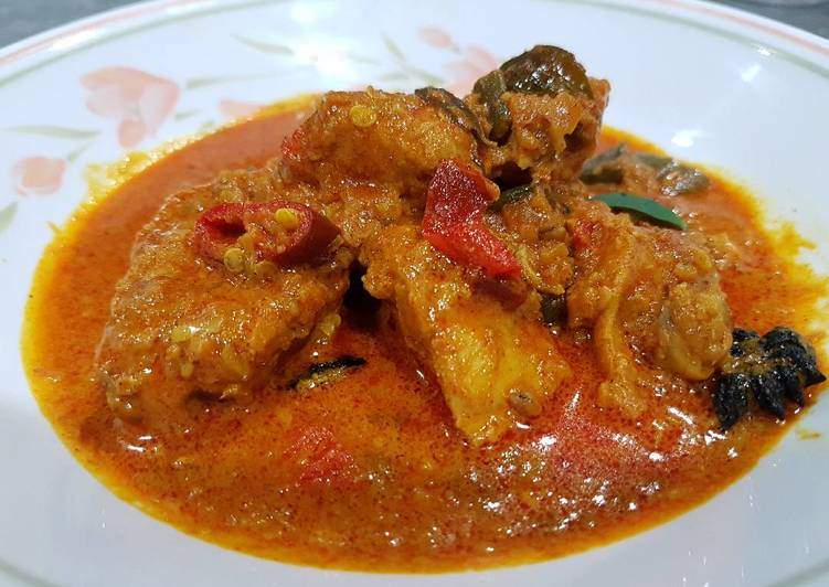 Malay Chicken Curry Deciding on Healthy Fast Food