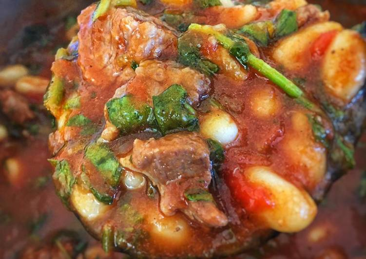 Simple Way to Make Any-night-of-the-week Lamb and Bean stew