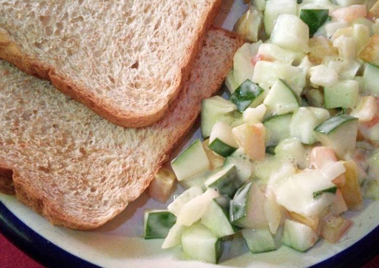 Salad Timun (Sarapan Diet)
