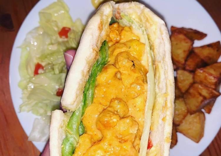 Batbout façon pain kebab