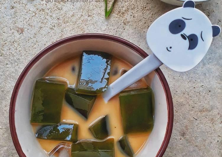 Jelly Cincau Pandan