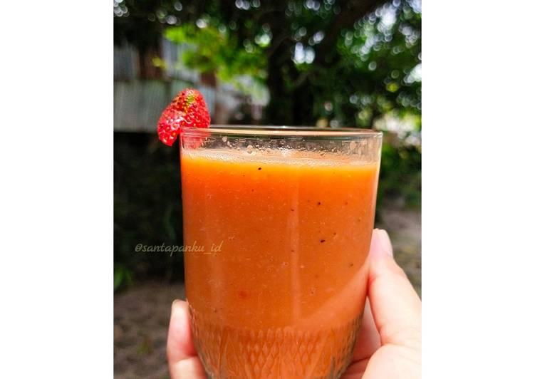 Pepaya Strobery Juice (PaStro Juice)