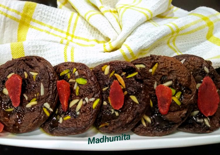Chocolate Mini Pancakes